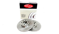 Vauxhall Corsa D Front Solid Brake Disc Set Delphi 93188916