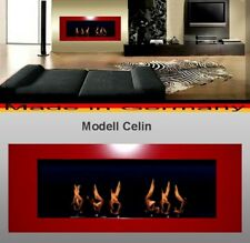 Fireplace Celin-Red for Gel or Ethanol / Made in Germany / fire place etanol