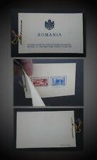 1939 ROMANIA Architecture,New York World's Fair,BOOKLET SCT.489-490 MI.594-595