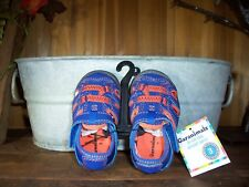 GARANIMALS BOY TODDLER BABY CASUAL SHOES SIZE 5 COLOR BLUE ORANGE KIDS SUMMER