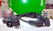 Land Rover Series 2a 3 2.25 Petrol OEM Genuine Lucas Ignition HT Plug Leads Set