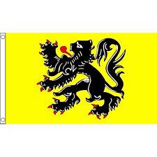Flanders Lion Flag 5Ft X 3Ft Belgium Belgian Banner With 2 Eyelets New