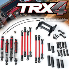 NEW TRA8140R Traxxas TRX-4 Complete Long Arm Lift Kit (RED)