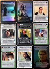 star wars ccg lot AI Rare Plus Oddities Decipher