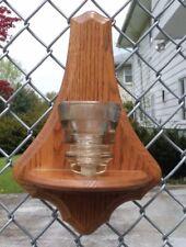 Glass Insulator Tea Light Holder