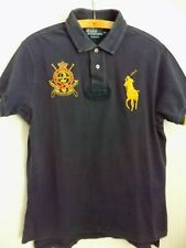 New listing Vintage Retro Polo Ralph Lauren Jockey Club Shirt Rare Jersey Top Golf Mens Size