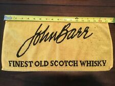 Vintage Pub Bar Towel John Barr