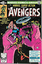 Marvel Super Action Comic Book #25 The Avengers 1980 VERY FINE/NEAR MINT