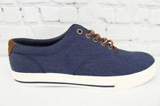 Polo Ralph Lauren Vaughn Mens Blue Fashion Sneaker Size 11D