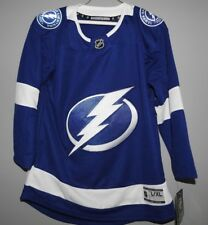 abb4725c NHL Authentic Tampa Bay Lightning Hockey Jersey New Youth L/XL MSRP $80