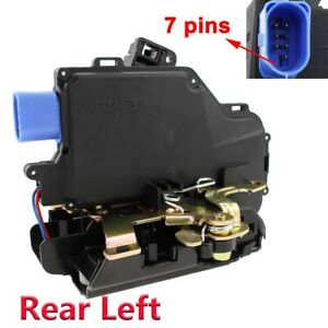 1x Rear Left Door Lock Latch Actuator Mechanism For VW Golf Mk5 Jetta Mk3 Touran