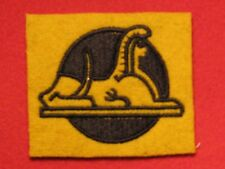 BRITISH ARMY WW2 56TH INFANTRY BRIGADE FORMATION BADGE SPHINX RF EMBROIDERED