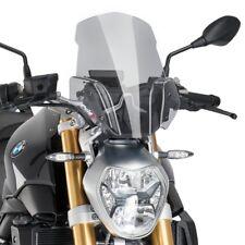 BMW R 1200 R 2015 > CUPOLINO PUIG FUMÉ CHIARO NAKED SPORT PARABREZZA