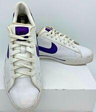 Men's NIKE Sweet Classic Leather White Purple Low Shoes US Sz 10 318333-151