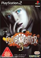 Used PS2 Clock Tower 3 SONY PLAYSTATION 2 JAPAN IMPORT