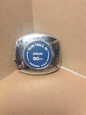 KLEIN TOOLS Tape Measure- Klein Survey Tape Steel Ruler Retractable-Wind Up