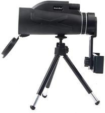 Telescopio Monocular KOET, alcance de visión nocturna Impermeable con Trípode de teléfono, 80x100