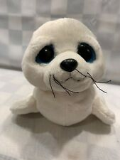 Big Sad Eyed SEAL Plush 12 Stuffed Animal Toy Aurora