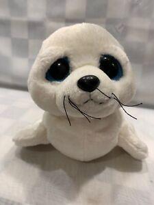 Big Sad Eyed SEAL Plush 12 Stuffed Animal Toy Aurora