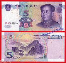 CHINA CHINE 5  yuan 2005 Pick 903  SC  / UNC