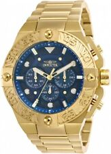 Invicta 25829 Pro Diver Men's Chronograph 50mm Gold-Tone Blue Dial Watch