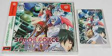 Baldr Force EXE + carte téléphonique Sega Dreamcast Japan rareshmup Brand New Sealed