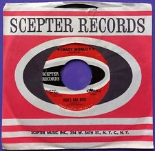 """Peck's Bad Boys - Crazy World - 7"""" USA 1966 Scepter SCE 12176 Excellent Cond"""