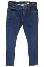 ZARA BOYS blue jeans age 13 - 14 years adjustable waist trousers <W241