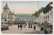 Bruxelles Exhibition 1910 postcard - Salle des Fetes - P/U 1910