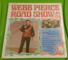 Webb Pierce - Road Show Decca 75280 Vinyl LP 1971 sealed Koko the Country Clown