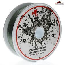 Matzuo America 20lbs 300yds Copolymer Fishing Line Green ~ New