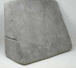 Brookstone® Bed Wedge Junior Pillow in Grey