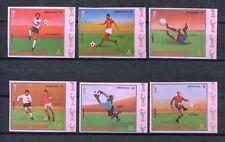 s5363) GUINEA ECUAT. 1978 MNH** WC Football - Coppa del Mondo Calcio 6v IMPERF