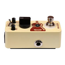 New Mooer Woodverb Acoustic Guitar Reverb Micro Guitar Effects Pedal!!