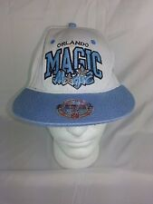 Orlando Magic Mitchell & Ness NBA Team Snapback Wool Hat Cap Baby Blue White