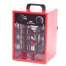 55198 Chauffage de chantier / atelier electrique 3KW 230V Neuf 3000 W 3000 Watts