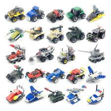 Mini Building Blocks Tank Early Educational Toys Children Christmas Gift Random