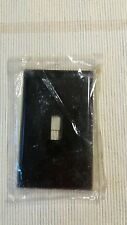 Bakelite Single Toggle Light Switch Wall Plate/Cover - Brown