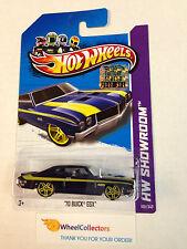 2012 Hot Wheels FACTORY SET * '70 Buick GSX * Dark Blue Kmart Only * A2