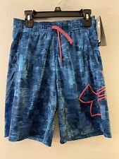 Youth Boys Under Armour HeatGear Loose Fit Shorts Size Medium New With Tags