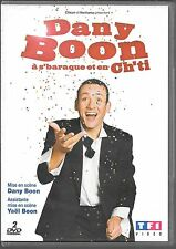 2 DVD--SPECTACLE--DANY BOON A S'BARAQUE ET EN CH'TI + EMISSION TV FREQUENSTAR