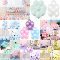 12 PCS 10inch Latex Balloons -12 Colors Party Decorations Premium Helium Quality