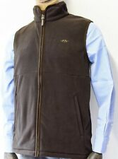 Blaser Fleece Gillet Vest Brown Philipp