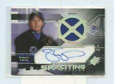 SHAWN CAMP 2004 Upper Deck SPX Spxciting Rookie Jersey Auto Autograph #D /799