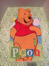Winnie The Pooh Pillow Case With Stuffed Head