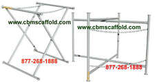 "TWO New 36"" X 30"" Double Chain Mortar Board Stand Scaffold"
