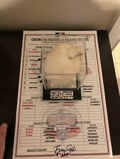 Game used Rosin Bag Atlanta Braves FIRST game and win in Suntrust Park, Teherán