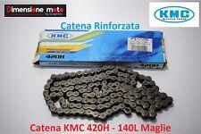 Catena Rinforzata KMC Passo 420 - 140L per POLINI XP4 Minimotard 110 dal 2005