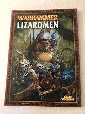 Warhammer Fantasy Lizardmen Army Soft Cover Hand Book Games Workshop
