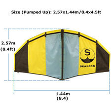 Foldable Windsurfing Inflatable Kite Kiteboarding Wing for Water/Land Flying